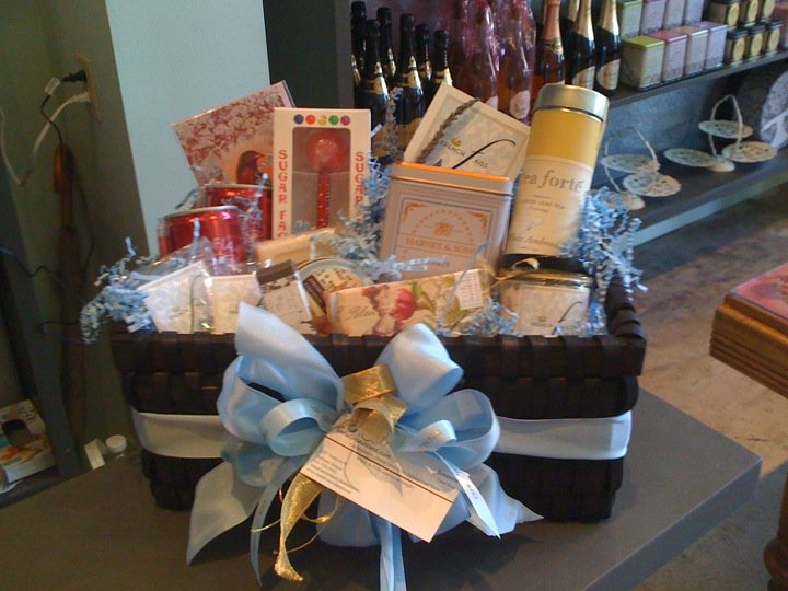 Some of the goodies you'll find at the French Kiss