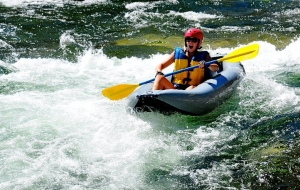 Inflatable Kayaking and Rafting on the Rogue River