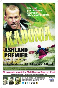 Kadoma will debut in Ashland on June 23rd.