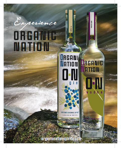 Organic Nation Vodka and Gin
